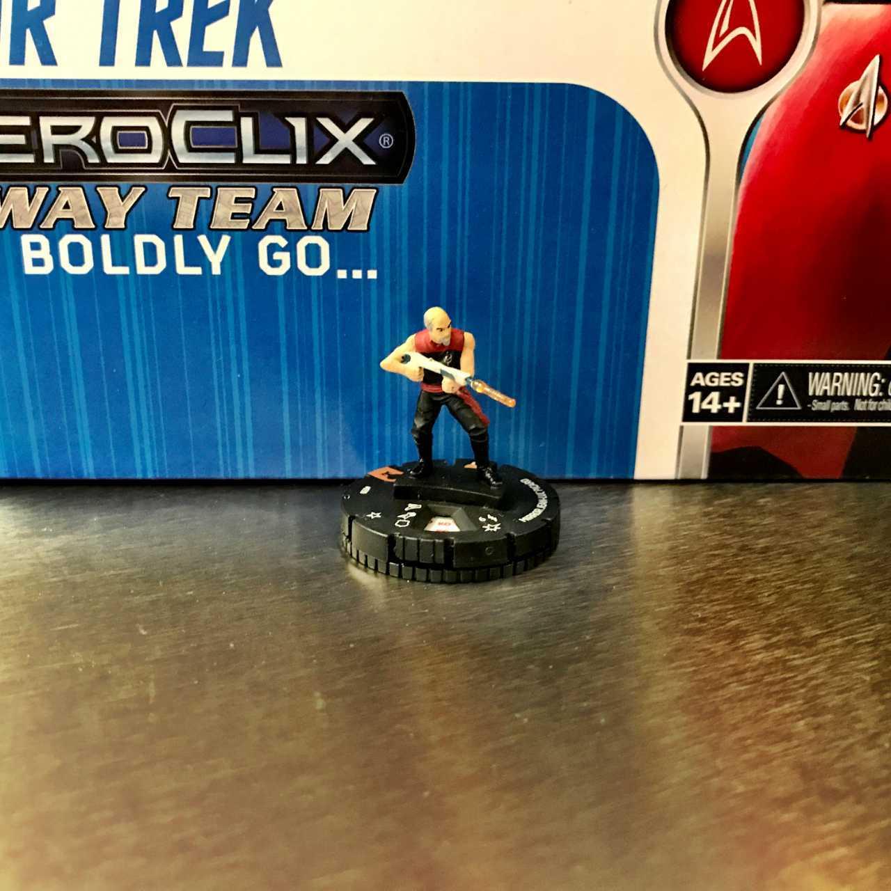 Star Trek The Next Generation HeroClix Away Team To Boldly Go  07