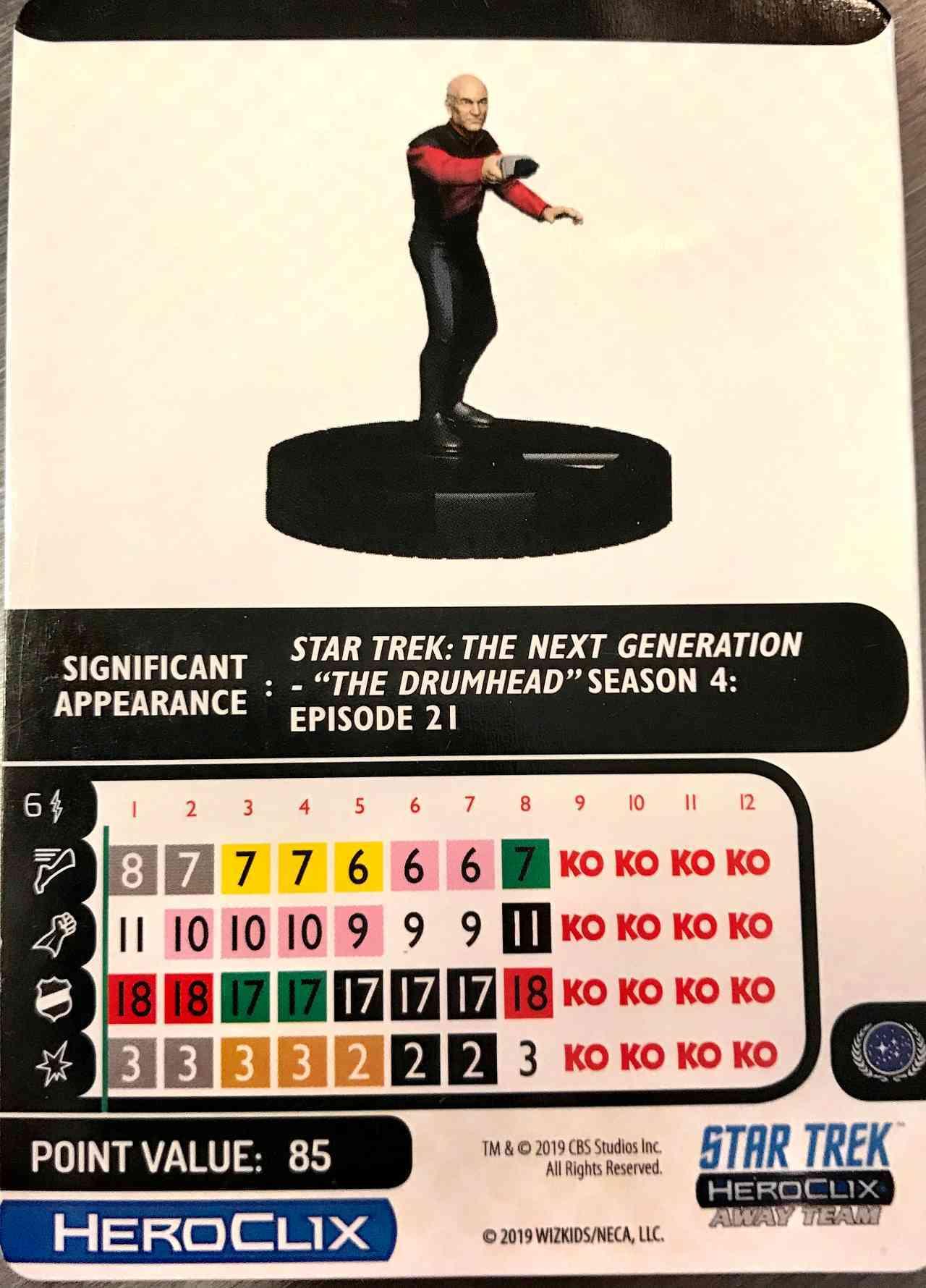 Star Trek The Next Generation HeroClix Away Team To Boldly Go  09