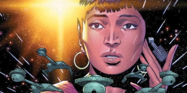 Star Trek: Uhura Communicates With a Tholian in Year Five Preview