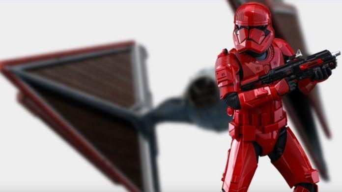 Star Wars 9 Rise Skywalker Sith TIE Fighter