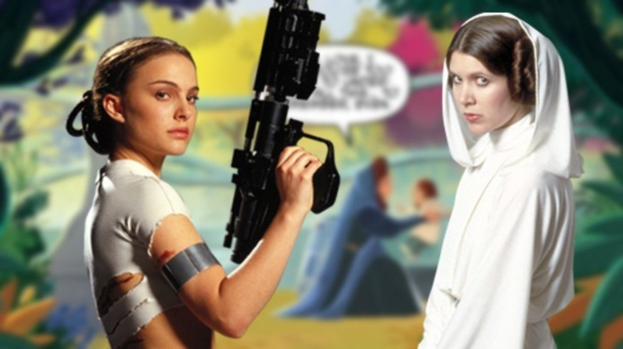 Star Wars Attempts to Fix Leia and Padme Plot Hole