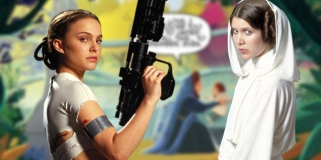 Star Wars Leia Padme Memories Explained Adventures Annual 2019 So Much More