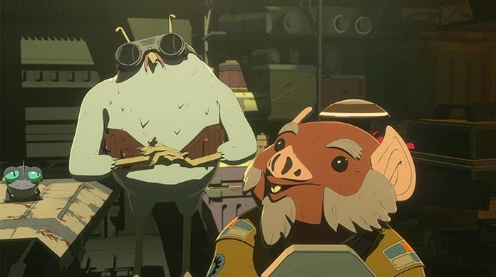 star wars resistance orka and flix