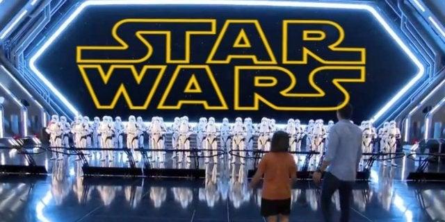 Star Wars Rise of the Resistance Disney World Disneyland Attraction