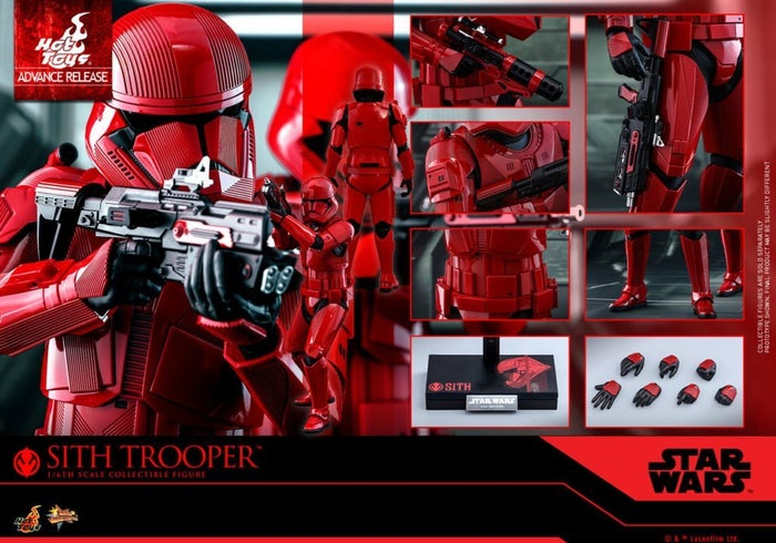 Star Wars Rise Skywalker Sith Trooper Hot Toys 2019