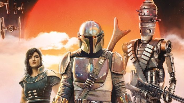star wars the mandalorian posters
