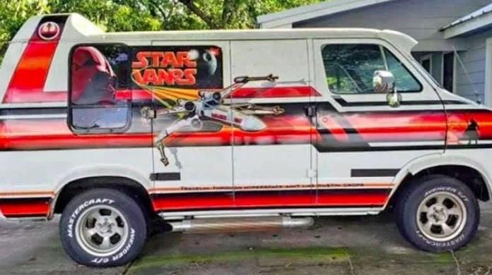 star wars van
