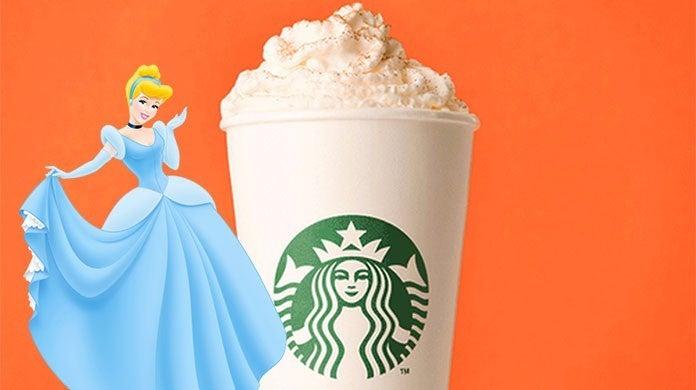 starbucks cinderlla latte