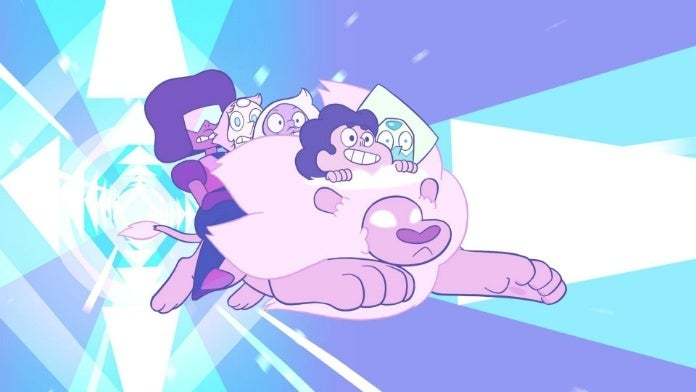 steven universe lion cropped hed