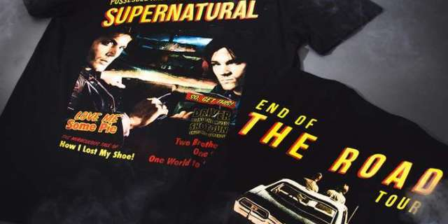 Hot Topic Launches a Supernatural Day End of the Road Fashion Collection