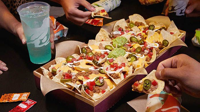 taco bell giant nacho party pack