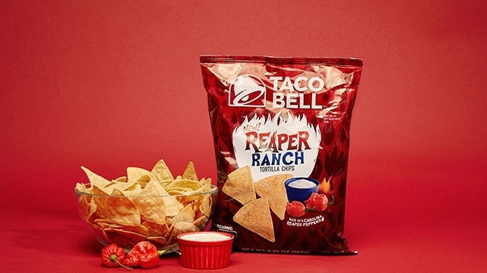taco bell reaper ranch chips