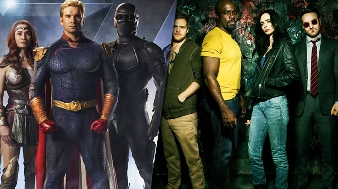 the boys defenders marvel tv