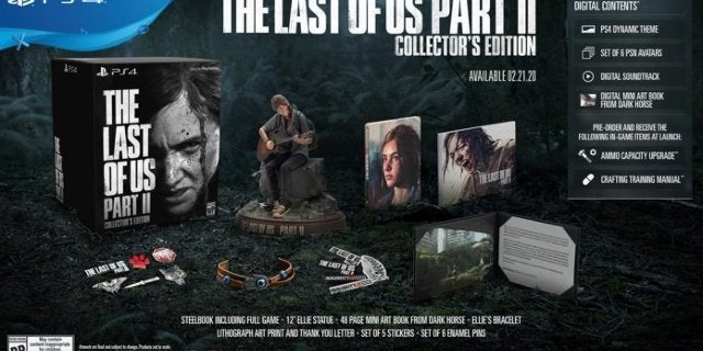 The Last of Us Part II Collector's Edition is Back up for Pre-Order