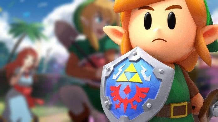 The Legend of Zelda Link's Awakening Anime Fan Art