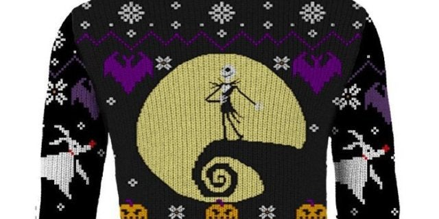 New The Nightmare Before Christmas Knitted Sweater Works for Halloween Too