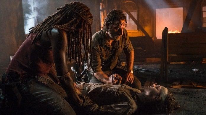 The Walking Dead 809 Carl death