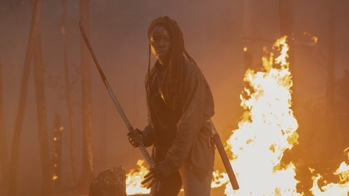 The Walking Dead Michonne Danai Gurira Season 10