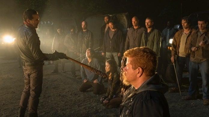 The Walking Dead Negan cliffhanger