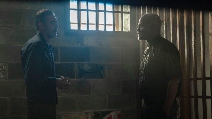 The Walking Dead Negan Gabriel season 10