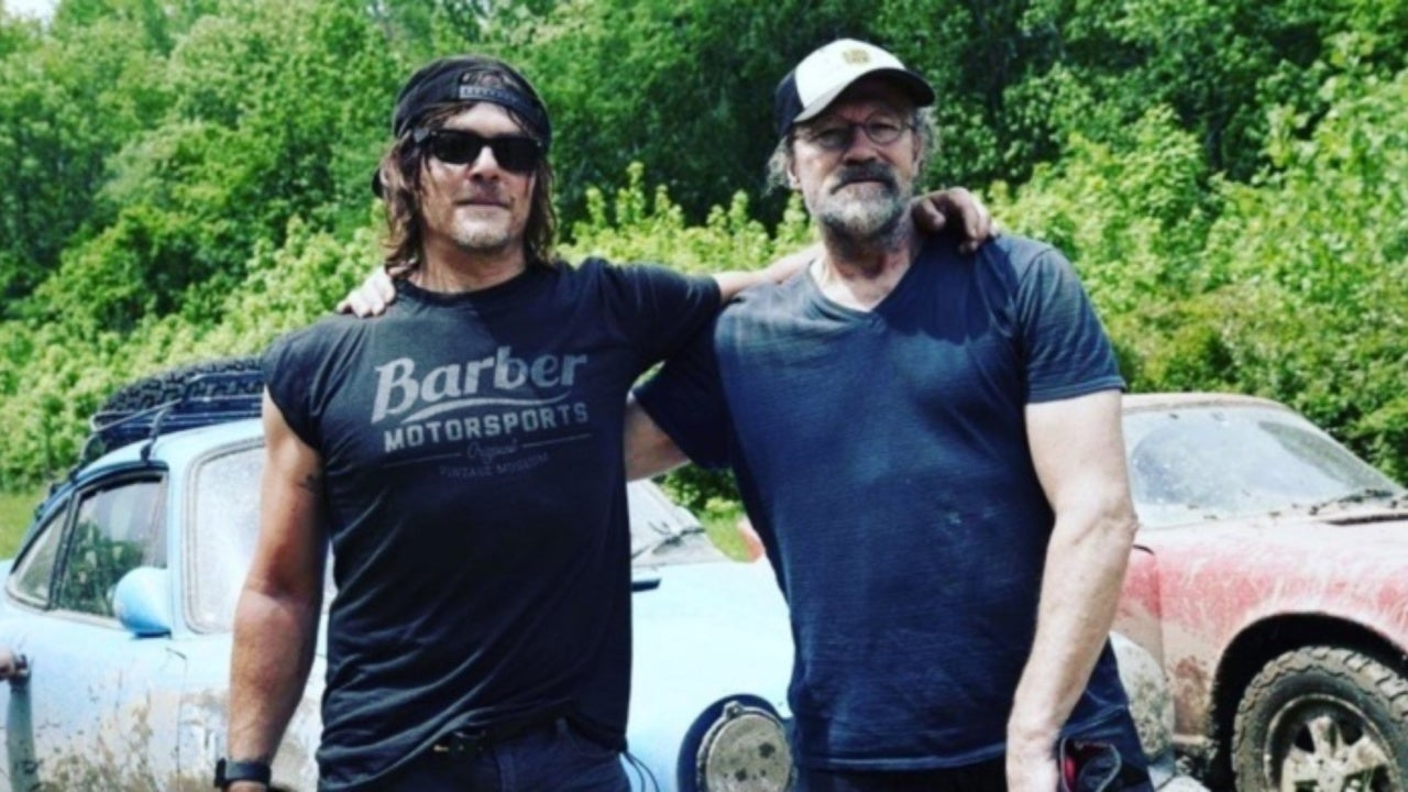 The Walking Dead's Dixon Brothers Norman Reedus and Michael Rooker to Reunite on Ride Season 4