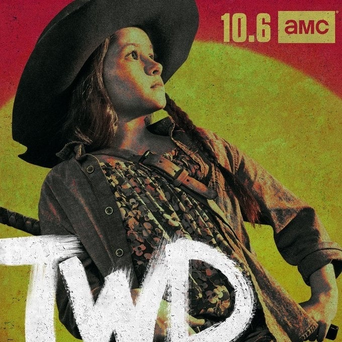 The Walking Dead Season 10 Cailey Fleming Judith