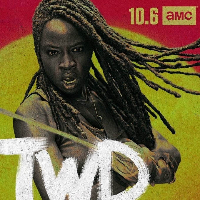 The Walking Dead Season 10 Danai Gurira Michonne