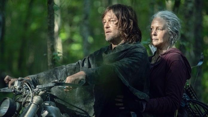 The Walking Dead Season 10 Daryl Carol Norman Reedus Melissa McBride