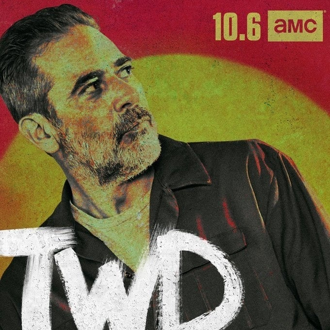 The Walking Dead Season 10 Jeffrey Dean Morgan Negan