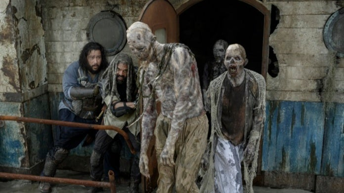 The Walking Dead Season 10 Khary Payton King Ezekiel Cooper Andrews Jerry