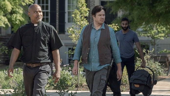 The Walking Dead season 10 love quadrangle