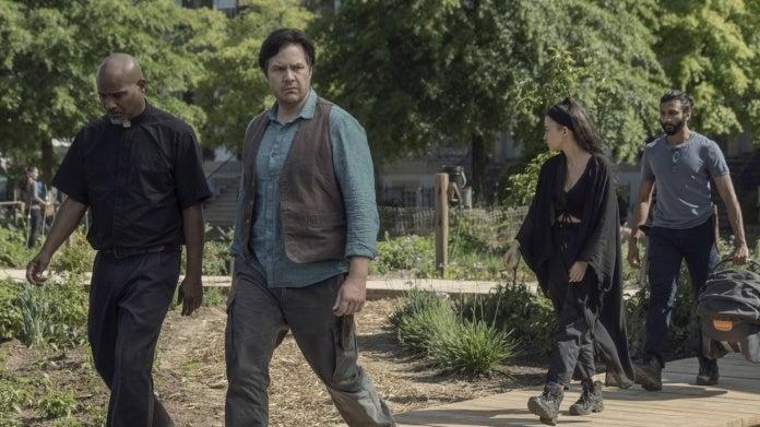 The Walking Dead Season 10 love quadrangle Gabriel Eugene Rosita Siddiq