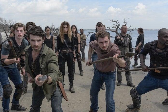 The Walking Dead Season 10 militia