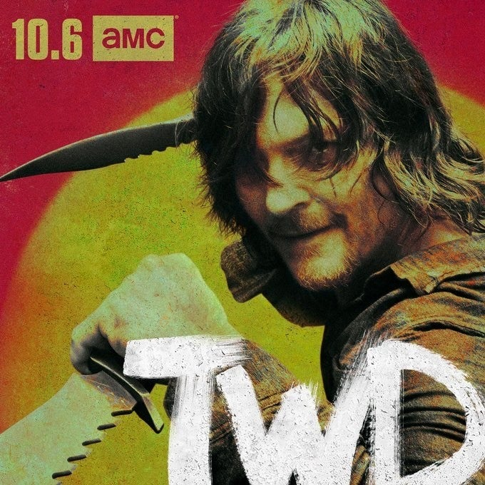 The Walking Dead Season 10 poster Daryl Norman Reedus