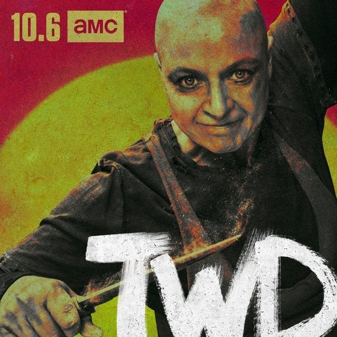 The Walking Dead Season 10 Samantha Morton Alpha