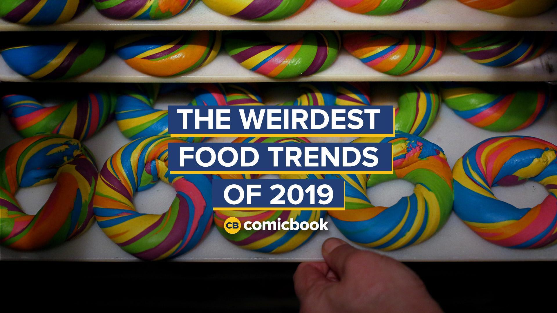 The Weirdest Food Trends of 2019 screen capture