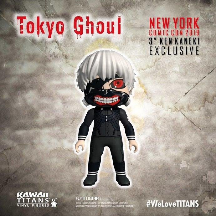 titan anime exclusives NYCC TITAN Tokyo Ghoul 2019