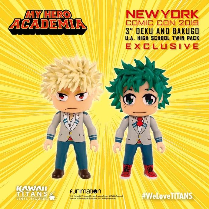 titan anime exclusives NYCC TITANS My Hero Academia 2019