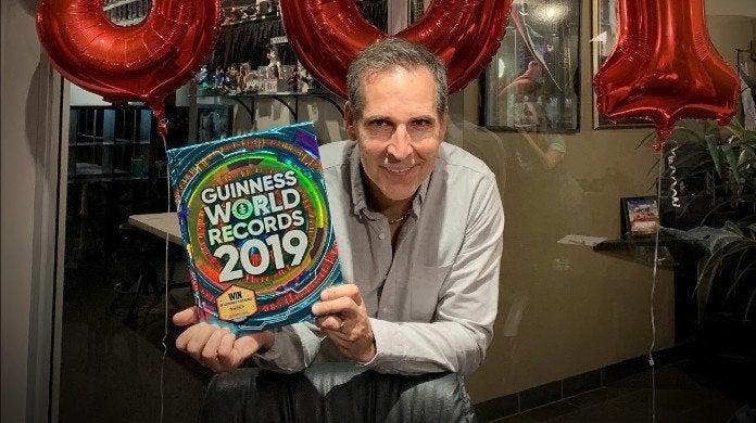 Todd McFarlane Guinness World Record