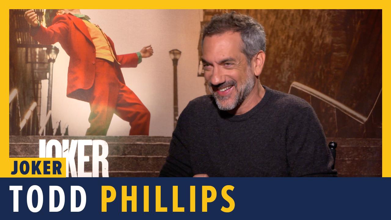Todd Phillips (Director) Talks JOKER - ComicBook.com Exclusive Interview screen capture