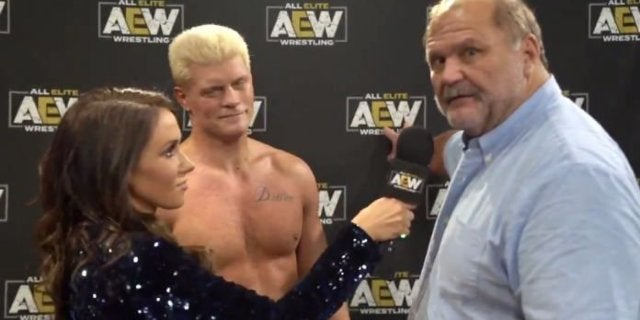 Watch: Arn Anderson Cuts His First Promo for AEW, Tony Khan Addresses His Future