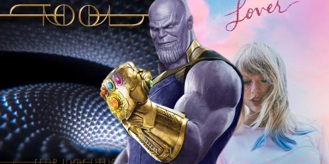 TOOL Singer Uses Thanos Meme To Troll Taylor Swift