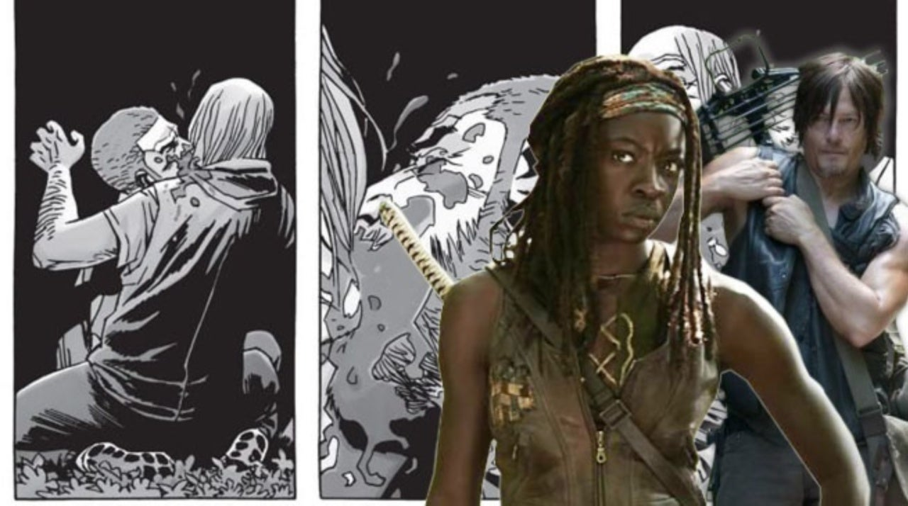 The Walking Dead is Coming Up on a Brutal Comic Book Moment