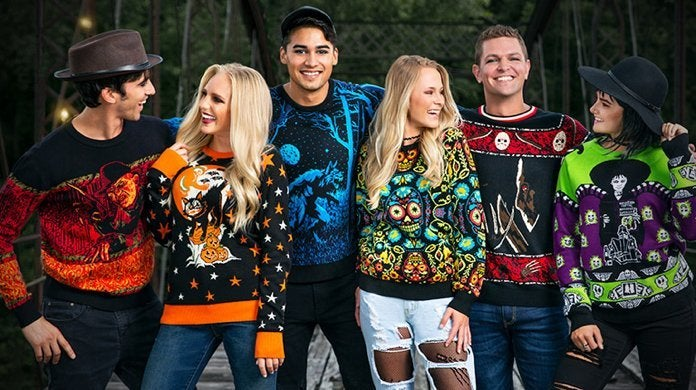 Ugly Halloween Sweaters for 2019 Include Horror Classics