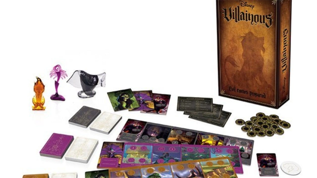 Villainous: Evil Comes Prepared Adds New Strategies to Popular Disney Boardgame