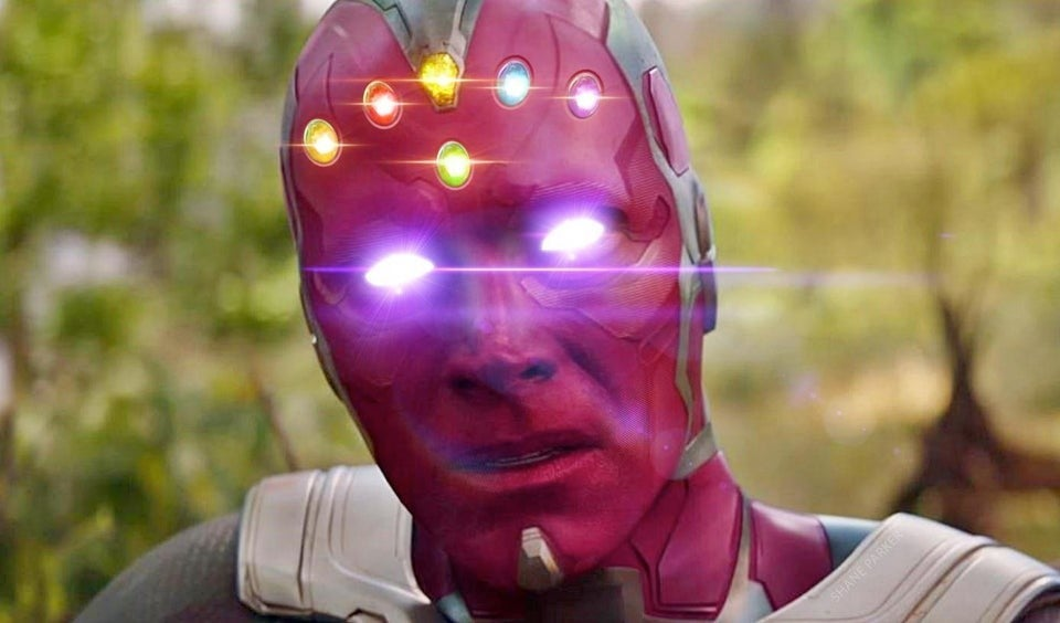 Vision With the Inifnity Guantlet Stones MCU