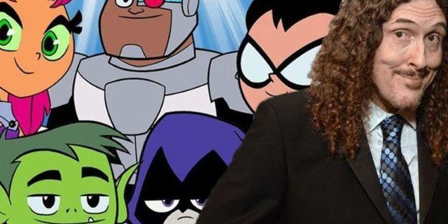 Weird Al Plays a Classic DC Comics Villain in Teen Titans Go! vs Teen Titans Clip