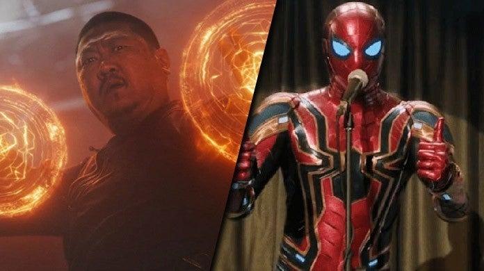 wong spider-man