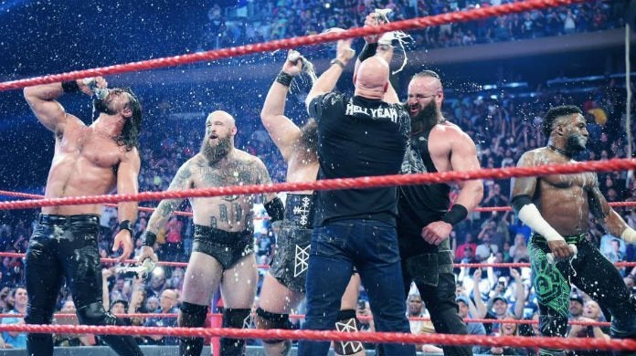 WWE-Raw-Steve-Austin-Seth-Rollins-Cedric-Alexander-Viking-Raiders