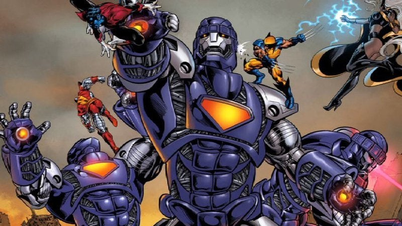 X-Men Mutant Killers Bolivar Trask